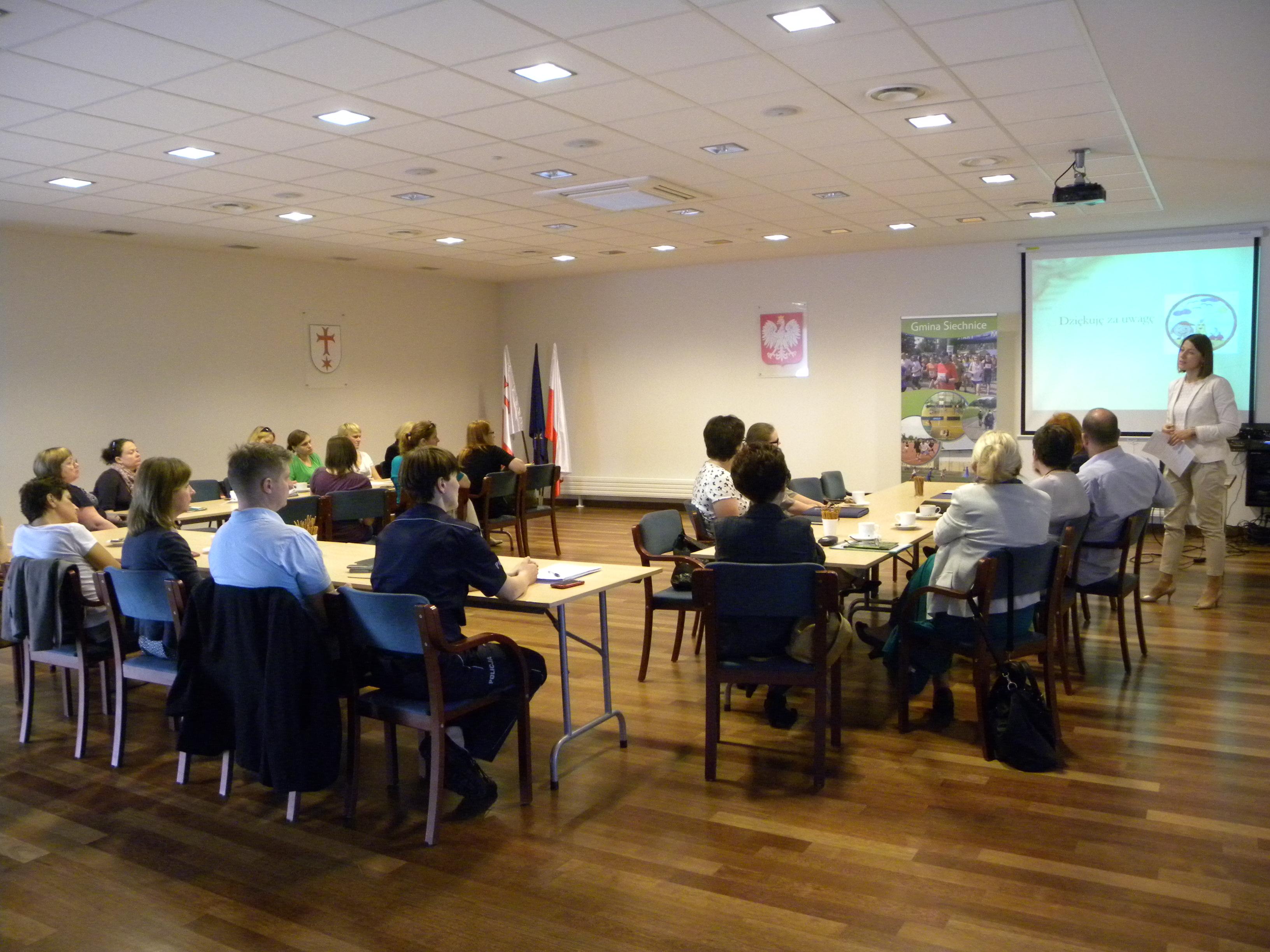 Spotkanie informacyjne ws. Gminnego Programu Wspierania Rodziny na lata 2015-2018- 2014