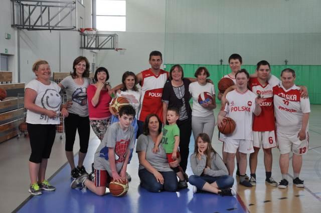 Zajęcia sportowe dla osób niepełnosprawnych w ramach projektu - 2014