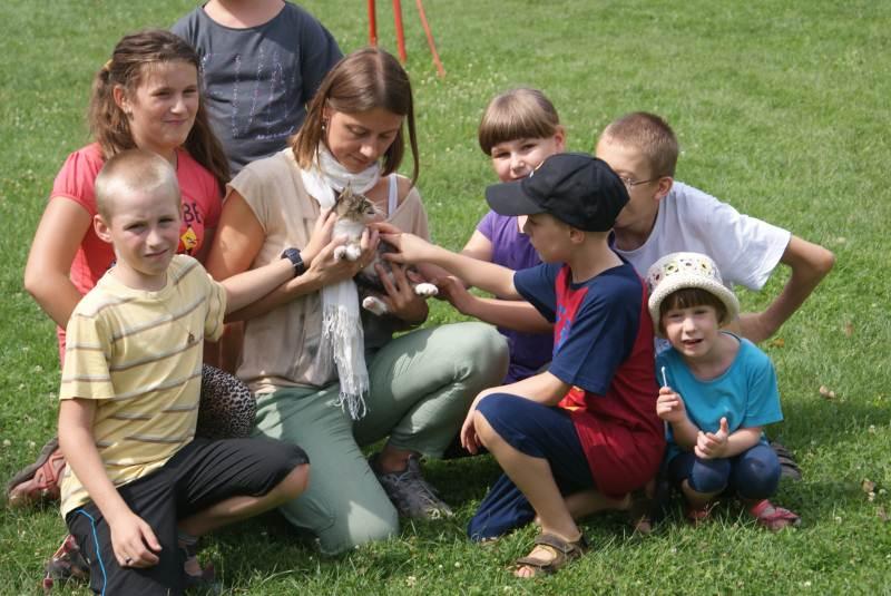 Wakacyjne środy - wycieczka do Marcinowa - 2014