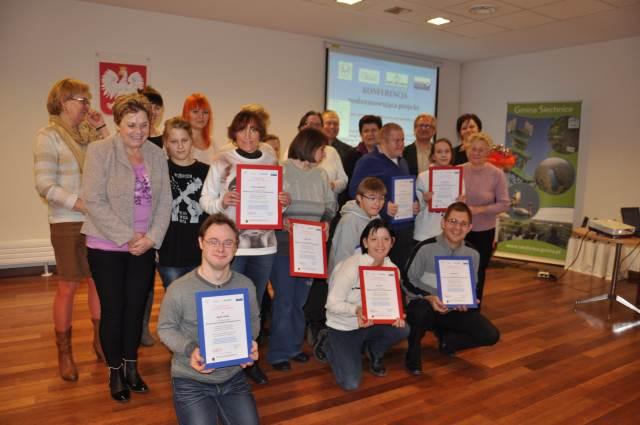 Konferencja podsumowująca projekt dla osób niepełnosprawnych - 2014